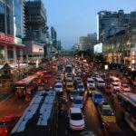 バンコク 早朝便 タクシー,バンコク 渋滞 時間帯,バンコク 渋滞 曜日