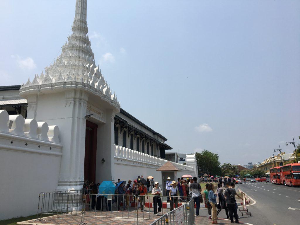 タイ 三大寺院 所要時間,タイ 寺院 巡り,タイ 三大寺院 回り方