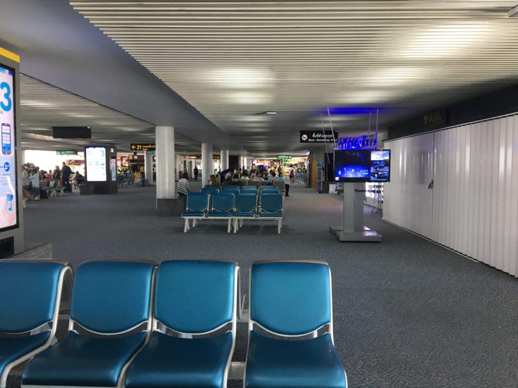 ドンムアン空港 時間つぶし,ドンムアン空港 食事,ドンムアン空港 マッサージ